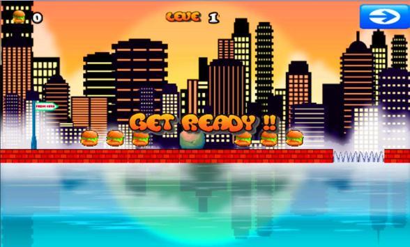 Hamburger Men Game screenshot 4