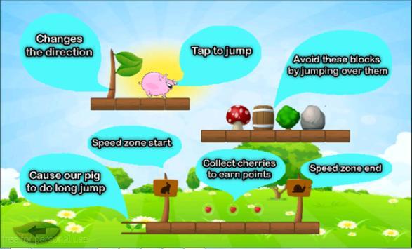 ... Fat Pig Run - pig jump Free apk screenshot ...