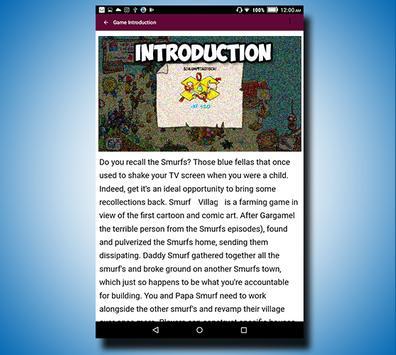 Guide Smurfs' Village screenshot 1