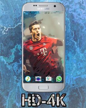 Robert Lewandowski HD Wallpaper screenshot 1
