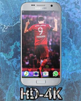 Robert Lewandowski HD Wallpaper screenshot 2