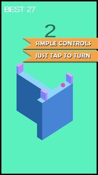 Cornerball - Tap to turn poster