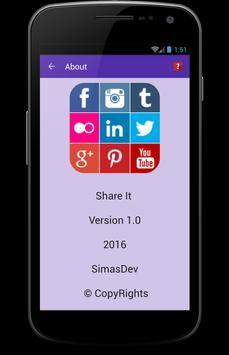 Share It apk screenshot