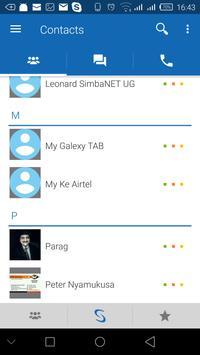 SimbaCall screenshot 1