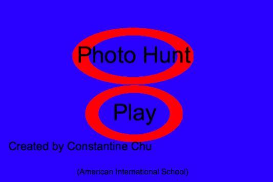 Grade 6 Photo Hunt poster