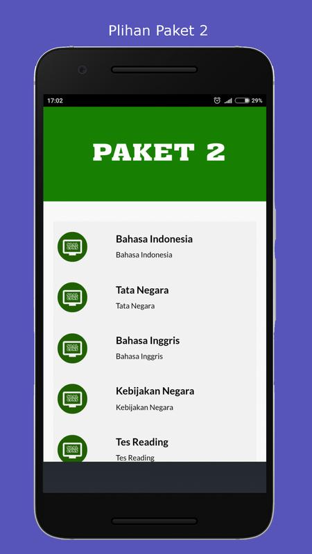 Simulasi Test Cat Cpns For Android Apk Download