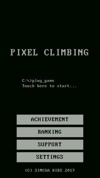 Pixel Climbing screenshot 1