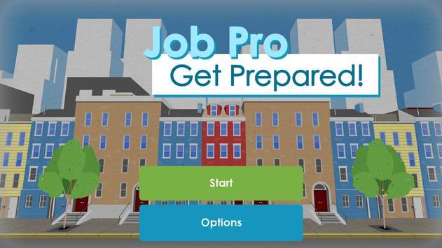 JobPro: Get Prepared! poster