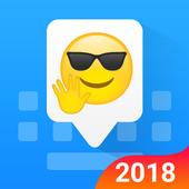 Facemoji Emoji Keyboard:GIF, Emoji, Keyboard Theme-icoon