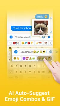 Facemoji Emoji Keyboard-Custom Keyboard,Theme,GIF apk screenshot