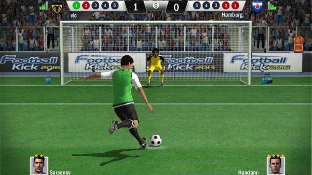 Football Kick 2016 screenshot 4