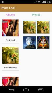 PhotoLock apk screenshot