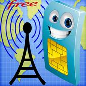 Sim Net Info icon