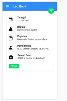 e - Log Book KOASS UMS screenshot 4