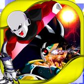 Goku vs jiren the battle of saiyan icon
