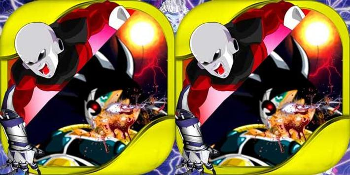 Goku vs jiren the battle of saiyan poster
