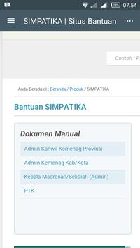 SIMPATIKA apk screenshot