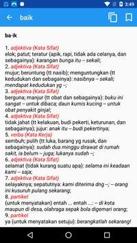 Kamus Bahasa Indonesia (KBBI) screenshot 2