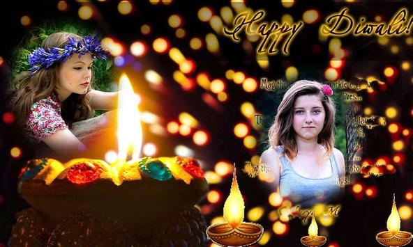 Dual Diwali Photo Frame Effect apk screenshot
