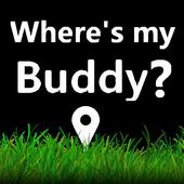 Where's my buddy - Free icon