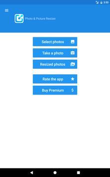 Уменьшение изображений - Photo & Picture Resizer скриншот приложения