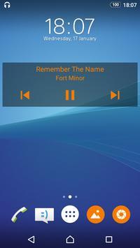Проигрыватель музыки скриншот приложения