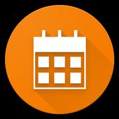 Prosty Kalendarz ikona