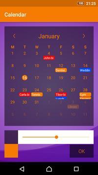 Prosty Kalendarz apk zrzut ekranu