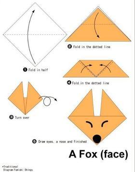 Simple origami instructions apk screenshot