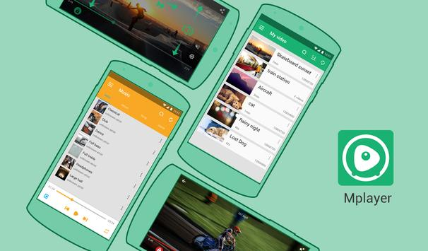 MP4 Video Player for Android apk screenshot