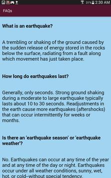 Earthquake Info screenshot 12