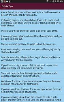 Earthquake Info screenshot 13