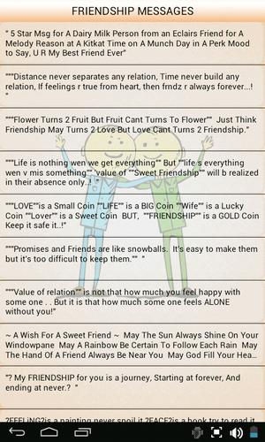 Friendship Text Messages for Android - APK Download