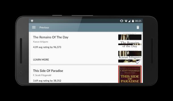 Bkance: Book recommending app screenshot 5