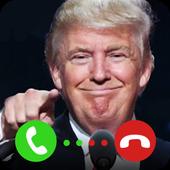 Donald Trump Call icon