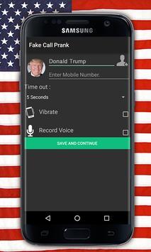 Donald Trump Call poster