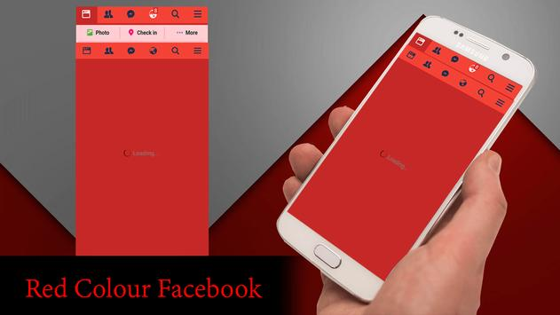 Red Theme For Facebook screenshot 2