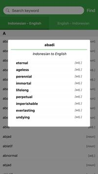 Dictionary: English-Indonesian apk screenshot
