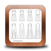 Simple Drawing Dress Tutorials icon