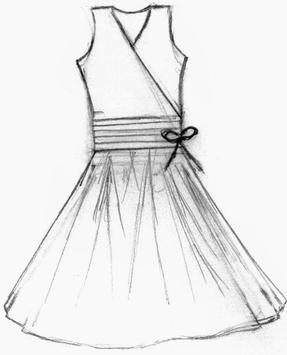 Simple Drawing Dress Tutorials screenshot 3