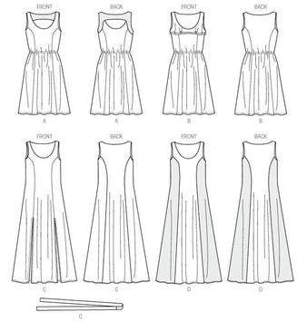 Simple Drawing Dress Tutorials poster