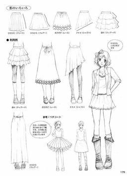 Simple Drawing Dress Tutorials screenshot 1