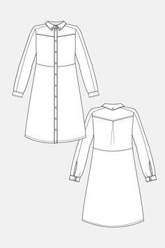 Simple Drawing Dress Tutorials screenshot 4
