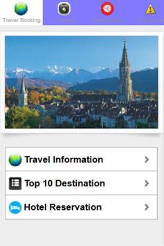 SwissTourism Hotel Reservation poster