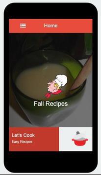 Simple Fall Recipes apk screenshot