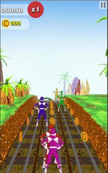 Subway Rangers Runner Power apk screenshot
