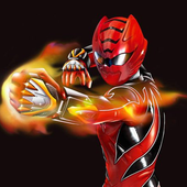 Red Rangers Zombie Shooter icon