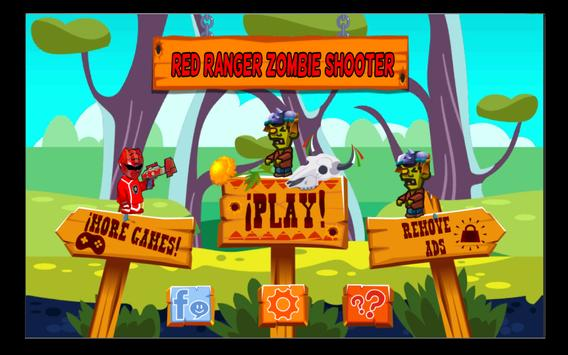 Red Rangers Zombie Shooter apk screenshot