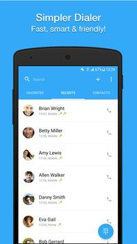 Dialer, Phone, Call Block & Contacts by Simpler الملصق