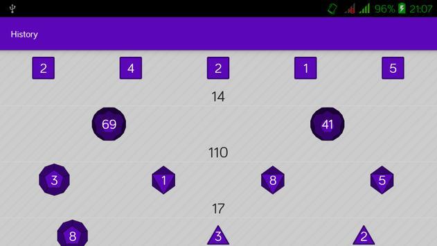 Simple RPG Dice Roller screenshot 5